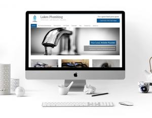 A professional website design